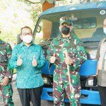 BI Bali Hibahkan Satu Mobil Operasional Kepada Korem Wira Satya