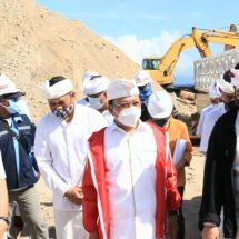 Dianggarkan Rp85 Miliar, PembangunanPelabuhan Sampalan – Nusa Penida Capai 51 Persen