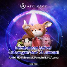 ArcheAge SEA Melangkah Maju dengan Penggabungan Server 'Nui'