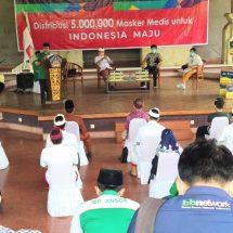 GP Ansor, Aice dan Pemerintah Provinsi Bali Dukung Vaksinasi dan Disiplin Masker Dalam Melawan Korona