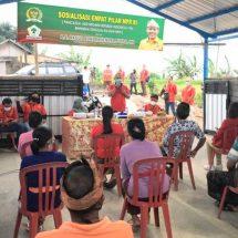 Sosialisasi 4 Pilar MPR RI, Amatra Tekankan Kesejahteraan Petani Harus Diwujudkan