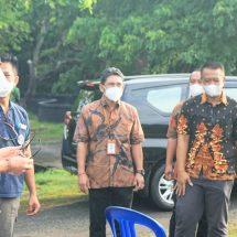 Jaya Negara Resmikan Pengerjaan Normalisasi Tukad Pangrarungan