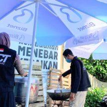 ACT Bali Bersama IMO Dirikan Dapur Umum Untuk Korban Kebakaran di Kampung Plastik