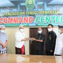 Bandesa AgungMDA Bali Temui Ketua Pengadilan Tinggi Denpasar, Permasalaham Adat Semestinya Diselesaikan secara Damai