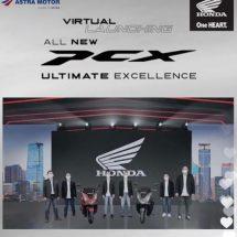 Ribuan Viewers Ramaikan Live Event Peluncuran All New Honda PCX160 Bali
