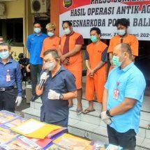 Polda Bali Ungkap 64 Kasus Narkoba, Empat Pelakunya WNA