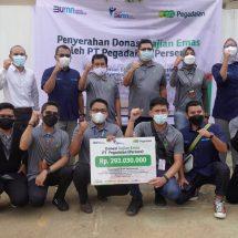 Pegadaian Salurkan Donasi GAJIANEMAS Untuk Korban Gempa Bumi Mamuju-Majene