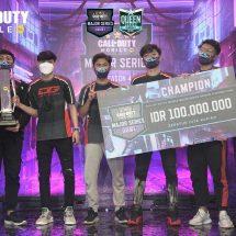 Wakili Indonesia ke Turnamen Esports Regional, DG Esports Juarai Turnamen Garena Call of Duty®: Mobile Major Series Season 4