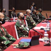 Kasum TNI Buka Rakorpers TNI Tahun 2021