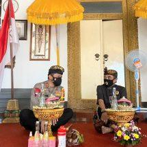 Kapolda Bali Silaturahmi Ke Puri Agung Klungkung