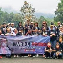 BNNK Denpasar Bersama HIPAKAD dan MAPAN Gelar Rally Wisata Gilas Corona