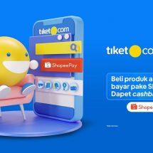tiket.com dan ShopeePay Mudahkan Masyarakat Rencanakan Staycation Aman dan Nyaman