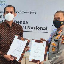 Penandatanganan Pedoman Kerja Teknis (PKT) Bantuan Jasa Pengamanan