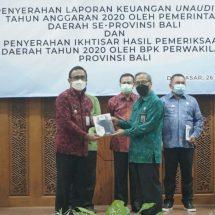 Kepala BPK RI Perwakilan Bali Apresiasi Pemkot Denpasar Pertahankan Opini WTP Delapan Kali