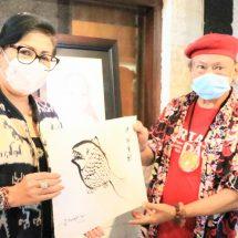 Ny. Putri Koster Harapkan Seniman Turut Sumbang Pikiran untuk Pembangunan Bali