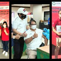 Pegawai Perbankan Se Bali Dukung Vaksin Covid-19
