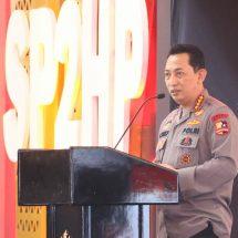Launching SP2HP Online, Kapolri: Semoga Tidak Ada Lagi Sumbatan Komunikasi