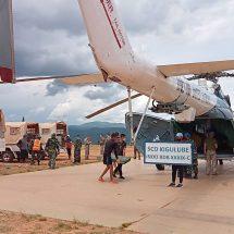 Satgas Batalyon Gerak Cepat XXXIX-C MONUSCO Laksanakan SCD di Desa Kigulube Kongo