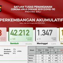 Update Penanggulangan Covid-19 di Bali, Pasien Meninggal Bertambah Sebelas