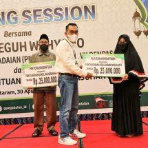 Pegadaian Serahkan Bantuan DKU Untuk BAZNAS Dan Dompet Sosial Madani Kota Denpasar