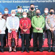 Gubernur Bersama Tokoh Masyarakat dan Pemuka Agama Bali Deklarasikan Cinta, Bangga dan Paham Rupiah