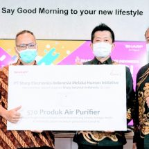 Sukses Gelar Kampanye Penjualan, Sharp Indonesia Jalankan Program Pemberdayaan Masyarakat