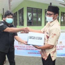 Touring Ramadan ke Haltim, KJTV Bagikan Mushaf Al-Qur'an Hingga Paket Sembako