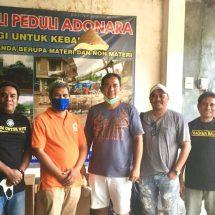 Kagama Serahkan Bantuan untuk Korban Bencana Alam di Adonara Flores Timur