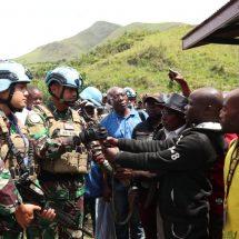 37 Milisi Rai Mutomboki Mabuli Serahkan Diri Ke Satgas TNI XXXIX-C BGC di Kongo