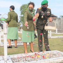 Ziarah Rombongan Peringatan HUT ke-64 Kodam Udayana Sebagai Wujud Bakti dan Mengenang Jasa Pahlawan