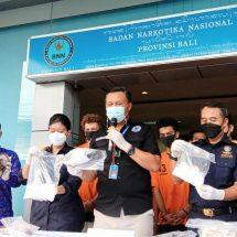 BNNP Bali Ungkap Empat Kasus Narkotika