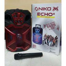 NIKO Luncurkan Trolley Speaker Echo 8, Desain Keren, Suara Menggelegar Berteknologi Bluetooth