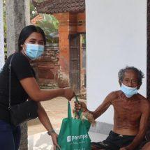 Bersama Panenpa, GenBI Unwar Gelar Aksi Konkret Berkontribusi Atasi Dampak Pandemi COVID-19