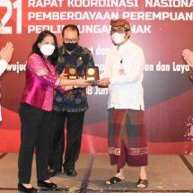 Walikota Jaya Negara Hadiri Rakornas PPPA, Komit Dukung Perlindungan Perempuan dan Anak