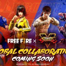 Free Fire Hadirkan Karakter Ryu dan Chun-Li Dari Game Ikonik Street Fighter