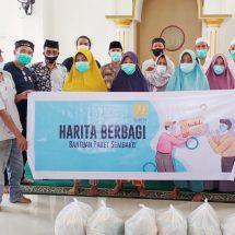 Dukung Warga Hadapi Pandemi, HARITA Nickel Distribusikan 1.500 Paket Sembako