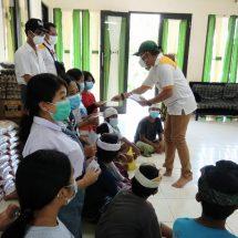 HUT ke-2, NCPI Bali Berbagi ke Panti Asuhan dan Penderita Kanker