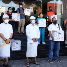"""Peduli Untuk Kemanusiaan"", Yayasan Bali Binar Bhakti Bantu Sepuluh Konsentrator Oksigen"