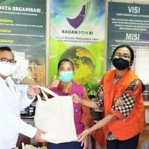 Balai BPOM Denpasar Bantu PASEK Paket Sembako