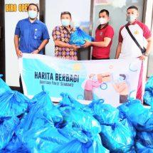 HARITA BERBAGI, Kembali Hadir Membagikan 1.600 Paket Sembako
