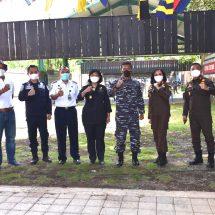 Jalin Sinergitas, Danlanal Denpasar Ajak Stakeholder Latihan Menembak